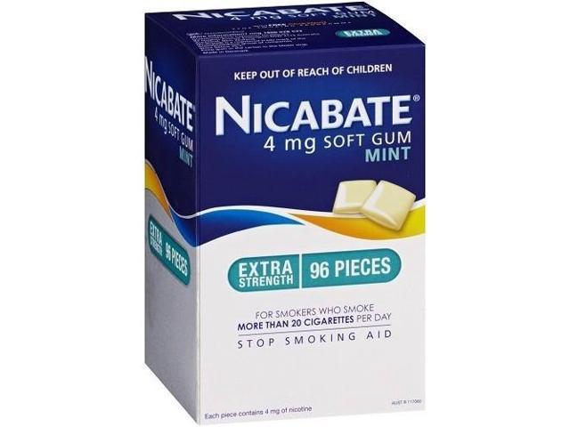 Nicabate CQ Gum Mint 4mg x 96