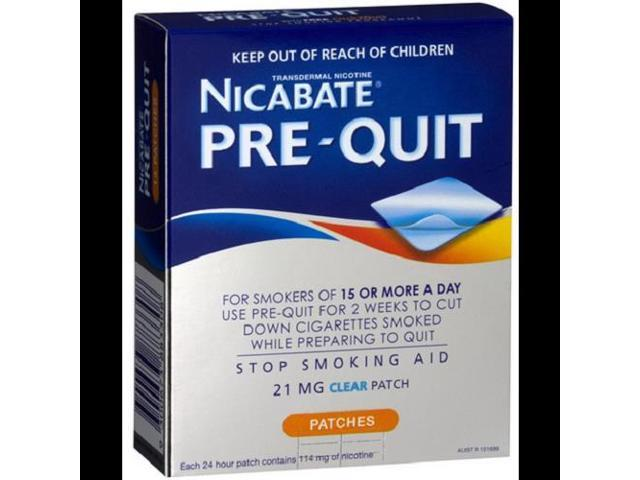 Nicabate PreQUIT patches x 14