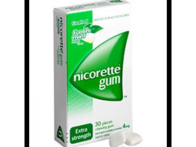 Nicorette Gum Fresh Mint Extra Strength 4mg x 30