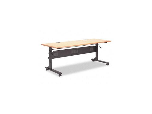 Flipper Training Table Base, Flipping L-Leg, 60w x 24d x 29-1/2h, Blac