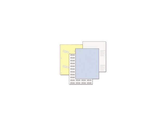 DocuGard Security Paper, 32lbs, 8-1/2 x 11,Blue/Canary, 500/Ream