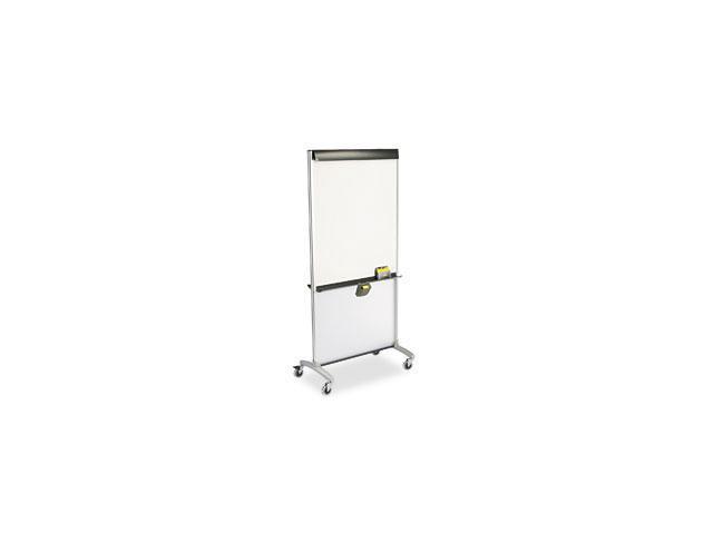 Quartet 500TE 3-In-1 Total Erase Easel, Whiteboard, Display, Room Divider, 36