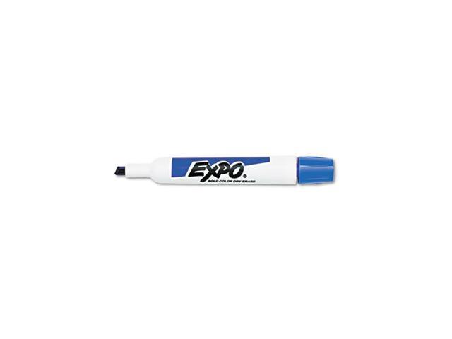 Dry Erase Marker, Chisel Tip, Purple, Dozen