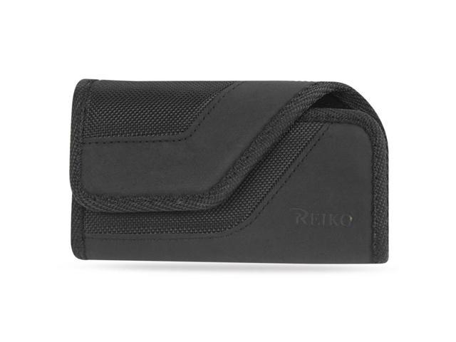 Reiko Card Holder Heavy Duty Rugged Pouch 6.26x3.34x0.64 (Fits Phone With Case)