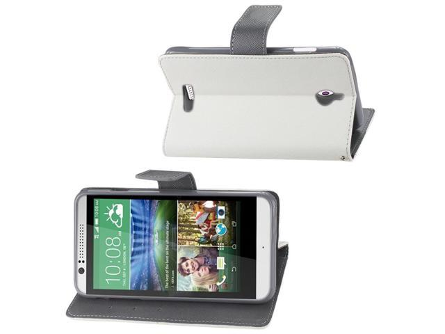 Reiko Free Stand Wallet Case For HTC Desire 510