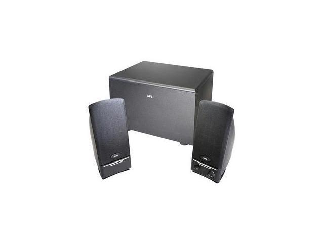 Cyber Acoustics CA-3001rb 2.1 Speaker System - 14 W RMS - Black