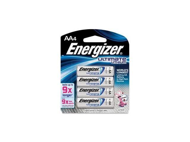 energizer ever4pk aa ultimate lithium l91bp 4 batteries. Black Bedroom Furniture Sets. Home Design Ideas