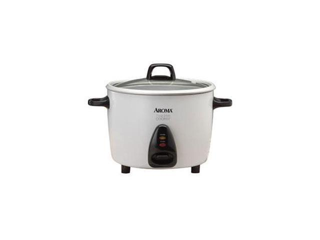 AROMA ARC-730G White 20-Cup Pot-Style Rice Cooker