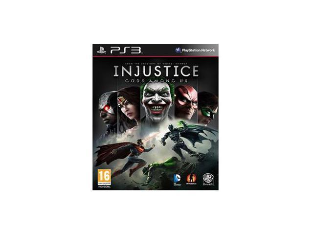 Injustice Gods Among U E PS3