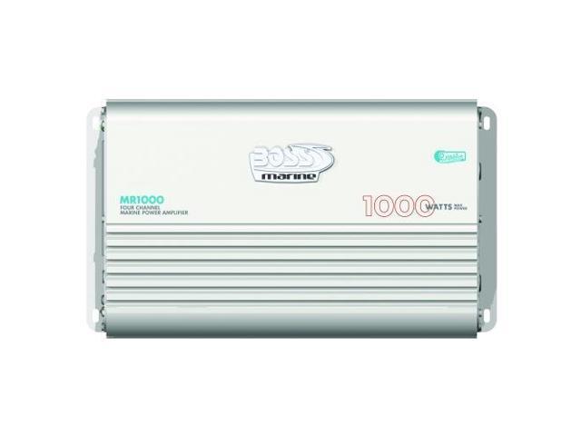 Boss Audio MR1000 Marine Power Amplifier 4-Channel MOSFET Bridgeable (MR1000)
