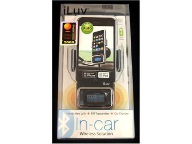 JWIN JV-I-730 Bluetooth Car Kit w/ FM Transmitter