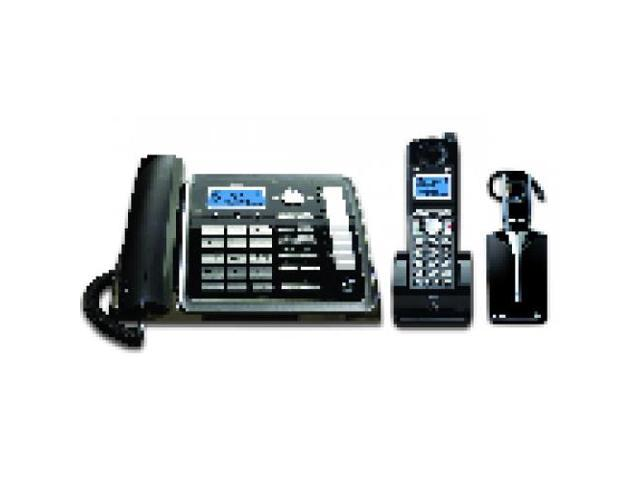 2 line cordless phone system with answering machine