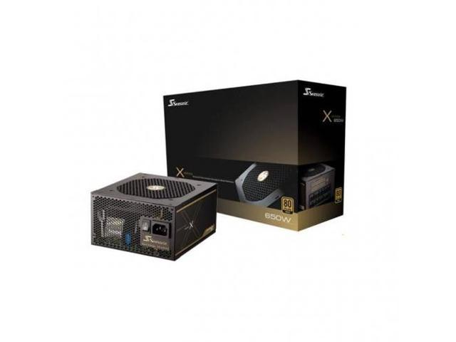 SEASONIC X-650 ; SS-650KM3 Seasonic X-650 650W 80 PLUS Gold ATX12V  EPS12V Power Supply