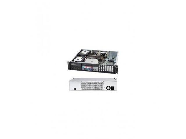 SUPERMICRO CSE-523L-520B Black 2U Rackmount Server Chassis 520W