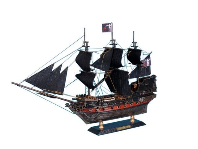 HANDCRAFTED MODEL SHIPS Caribbean-Pirate-LIM-15 Caribbean Pirate Ship Model Limited 15