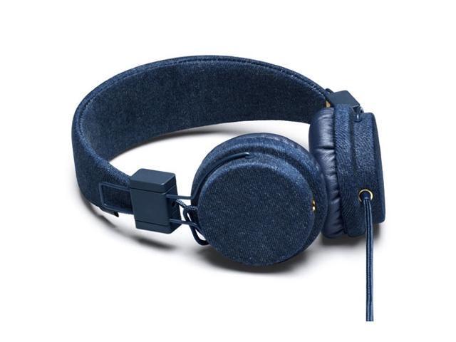 Urbanears Plattan Denim Edition Headphones Mic Remote ZoundPlug 04090593