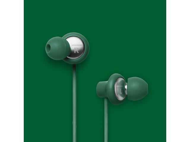 Urbanears Kransen Clover Green Earphones Earbuds Headphones Mic Remote 04090120