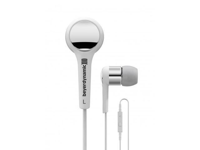Beyerdynamic MMX 102 iE White Neodymium Mic / Remote Earbuds Earphones