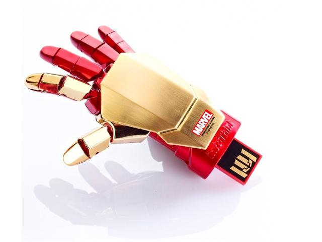 Iron Man 3 Series 8GB USB Flash Drive Gauntlet-Right with Repulsor Beam Blaster