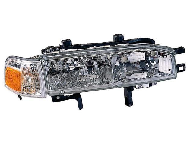 Replacement TYC 20-1714-00 Passenger Side Headlight For 90-91 Honda Accord