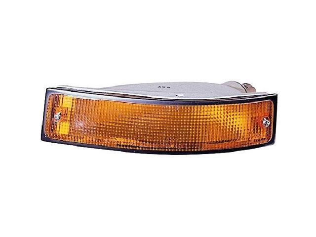 Replacement Depo 332-1670R-AS-Y2 Passenger Side Signal Light For 90-91 Geo Storm