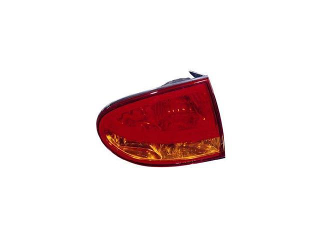 Replacement TYC 11-5338-01 Driver Side Tail Light For 99-04 Oldsmobile Alero