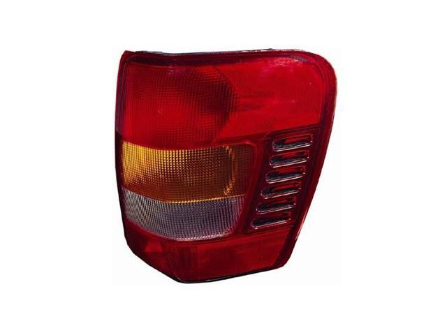Replacement TYC 11-5275-90-1 Passenger Tail Light For 02-04 Jeep Grand Cherokee