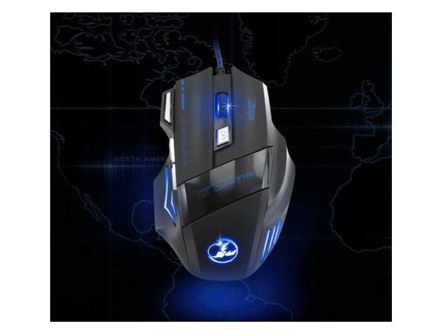 2014 3200DPI 8D MASTER T80 Optical Usb Gaming Mouse for PC Laptop RAZER WOW CS CF FPS