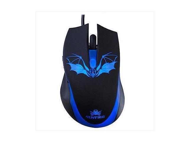 2014 6D 1600DPI SUNT GM263 Bat Usb Optical PC Gaming Mouse 6 Buttons CS CF WOW RAZER