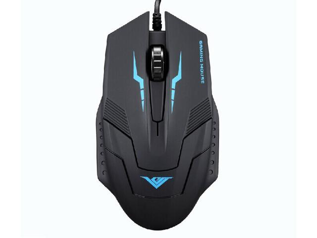 RAJFOO i5 1600DPI 6D Optical Wired USB Gaming Mouse for Gamer PC Laptop Home Office User - Ergonomic Design, Comfortable Matte Finish