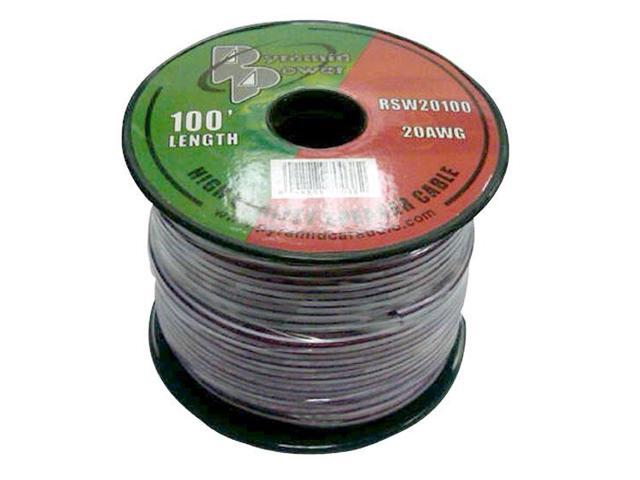20 Gauge 100 ft. Spool of High Quality Speaker Zip Wire