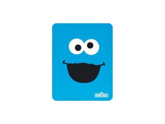 dreamGEAR DGIPAD-4607 Skin for iPad - Blue - Cookie Monster - Silicone