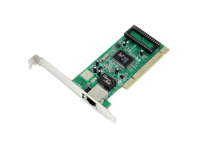 10/100/1000Mbps Gigabit Ethernet PCI Network Adapter Realtek 8169 Chip