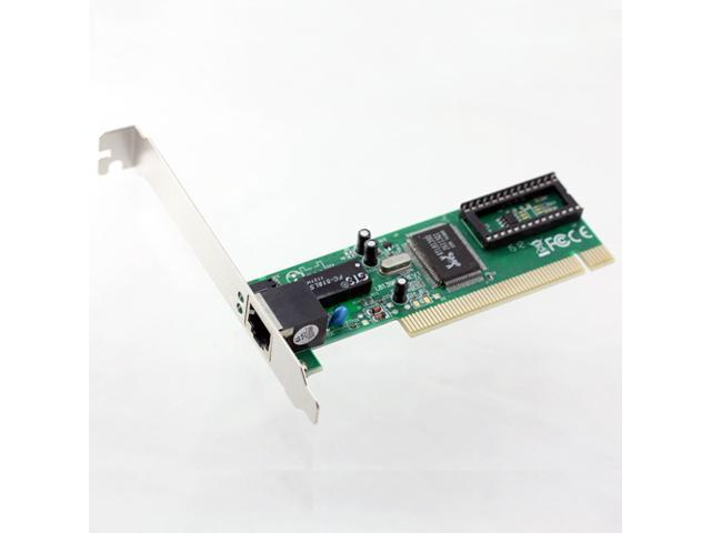 10/100Mbps Gigabit Ethernet PCI Network Adapter Realtek 8139 Chip