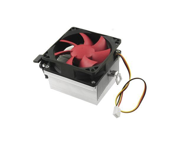 CPU Heatsink 3 Pins Connector Cooling Cooler Fan for Desktop Computer