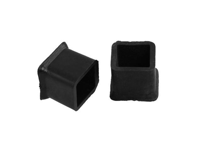 Furniture Chair Table Leg Rubber Foot Covers Protectors 20mm X 20mm 10Pcs N
