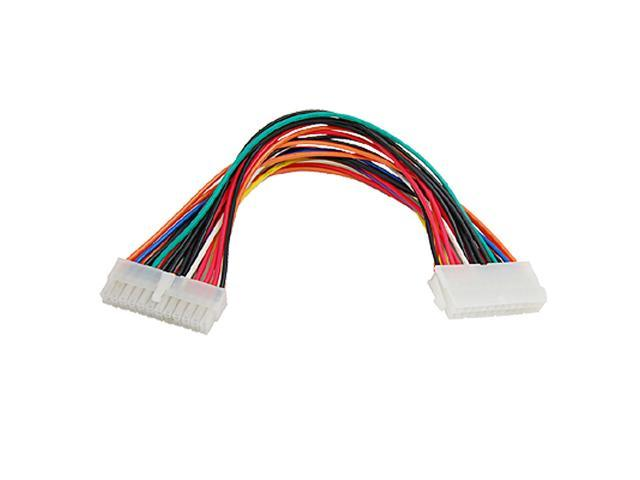 24 Pin ATX Male to 20+4pin Female PC Power Extension Cable