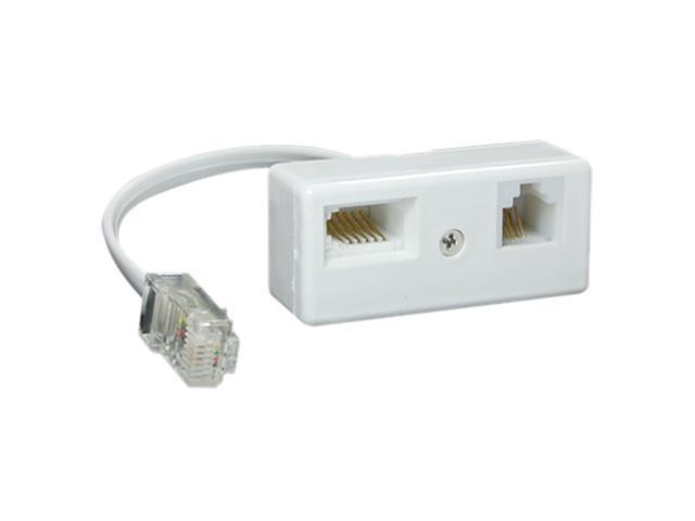 RJ45 Plug to BT RJ11 Cocket Telephone Secondary Adapter