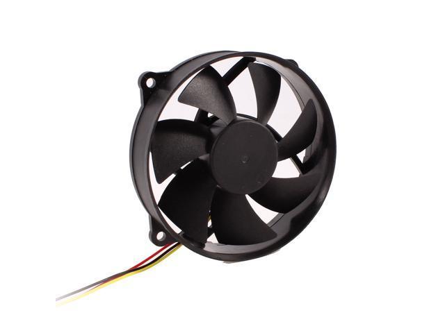 110mm 12v Fan : Mm round dc v pin desktop pc cpu cooler