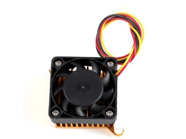 Aluminium Heatsink Cooler Fan 3 Pin for PC Northbridge Chipset Cooling