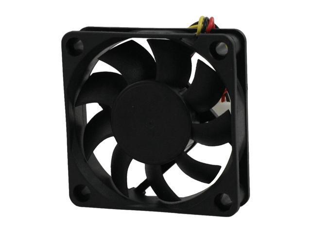 DC 12V 2Pin 6CM 60MM 6015 60x60x15mm Mini DC Cooling Cooler Fan Black