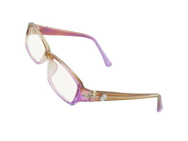 Ladies Plastic Frame MC Clear Lens Plano Glasses Light ...