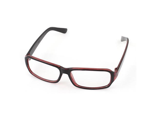 Ladies Plastic Frame Clear Lens Plano Plain Eyeglasses ...