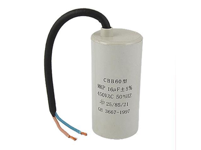 washing machine motor start capacitor
