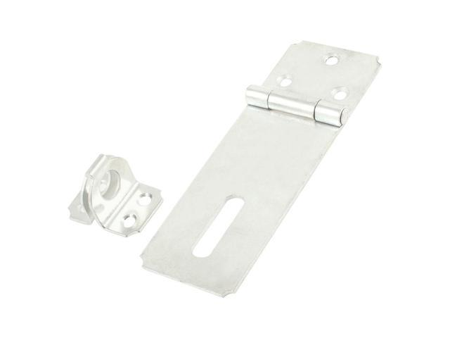Unique Bargains Warehouse Fitting Metal Padlock Hasp Staple Set 5.6