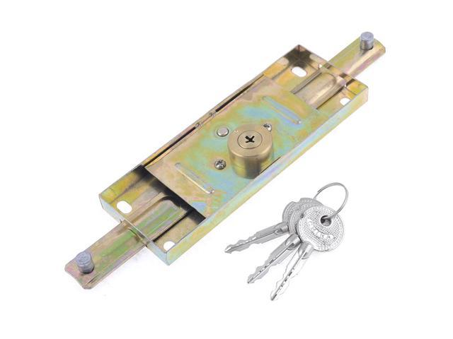 Unique Bargains Vertical Keyway Center Rolling Shutter Door Lock 23cm for Warehouse