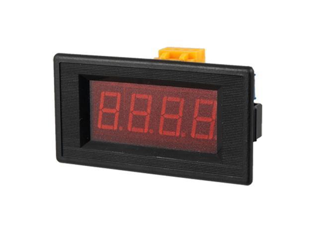 Digital Ammeter Panel Mount : Unique bargains dc a digital red led panel mount