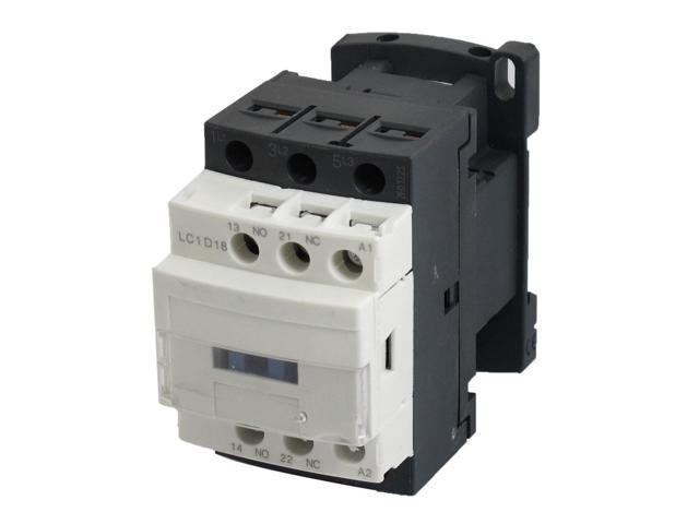 Lc1d18 motor control ac contactor 32 amp 3 phase 220v 50 for 10 amp motor controller