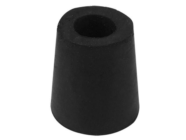 Furniture Chair Round Leg Foot Rubber Protector Cover Black Jywyb