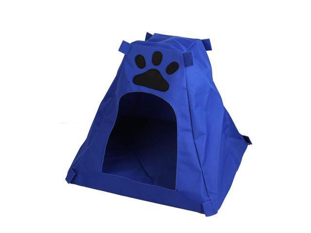 40cm Unfold Height Paw Pattern Pet Dog Doggie Tent Doghouse Nest Blue  sc 1 st  Newegg.com & 40cm Unfold Height Paw Pattern Pet Dog Doggie Tent Doghouse Nest ...